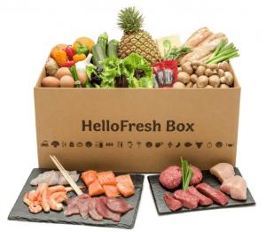De Gourmetbox van HelloFresh