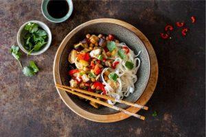 Willem&Drees recepten noodles met groenten