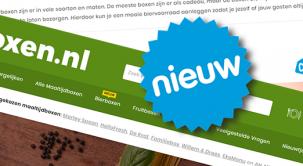 Frisse nieuwe website: Foodboxen.nl