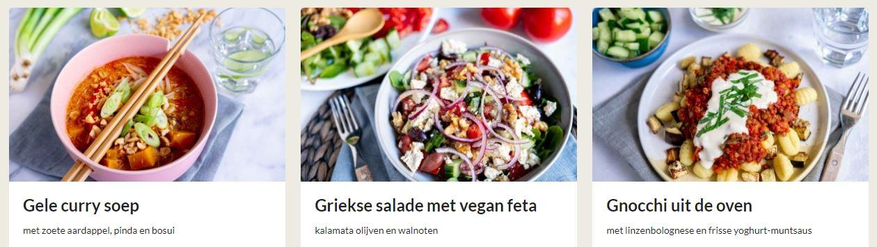 veganbox recepten vegetarisch