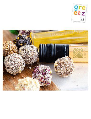 Greetz truffelchocolade en winetubes