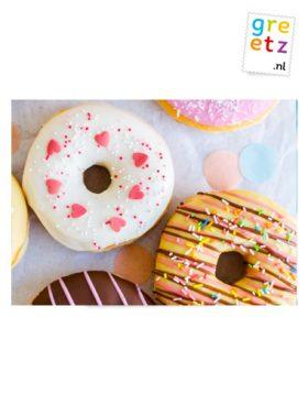 Greetz donuts party time 6 stuks