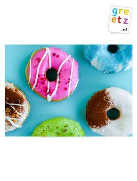 Greetz donuts treasure box 6 stuks